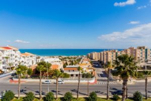 Apartament torrevieja widok na morze